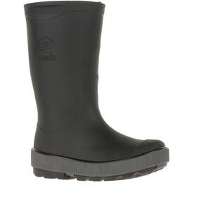 Kamik Riptide Rubber Boots Kinder black charcoal-noir charbon